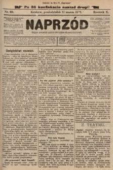 Naprzód : organ polskiej partyi socyalno-demokratycznej. 1901, nr69 (po konfiskacie nakład drugi!)