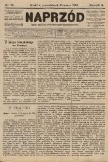 Naprzód : organ polskiej partyi socyalno-demokratycznej. 1901, nr76 [nakład pierwszy skonfiskowany]