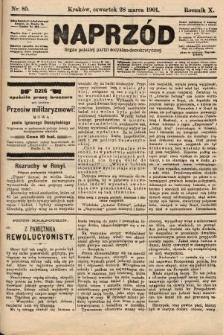 Naprzód : organ polskiej partyi socyalno-demokratycznej. 1901, nr85