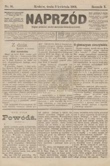 Naprzód : organ polskiej partyi socyalno-demokratycznej. 1901, nr91
