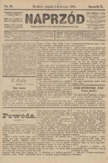 Naprzód : organ polskiej partyi socyalno-demokratycznej. 1901, nr93
