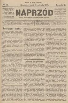 Naprzód : organ polskiej partyi socyalno-demokratycznej. 1901, nr96