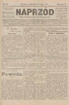 Naprzód : organ polskiej partyi socyalno-demokratycznej. 1901, nr97