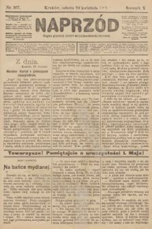 Naprzód : organ polskiej partyi socyalno-demokratycznej. 1901, nr107