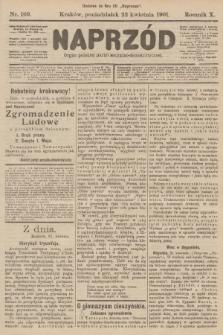 Naprzód : organ polskiej partyi socyalno-demokratycznej. 1901, nr109