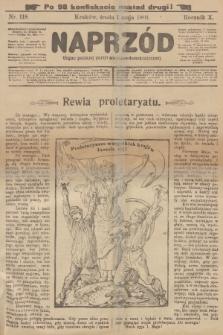 Naprzód : organ polskiej partyi socyalno-demokratycznej. 1901, nr118 (po konfiskacie nakład drugi!)