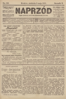 Naprzód : organ polskiej partyi socyalno-demokratycznej. 1901, nr122