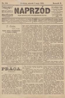 Naprzód : organ polskiej partyi socyalno-demokratycznej. 1901, nr124