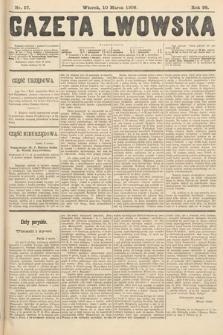 Gazeta Lwowska. 1908, nr57