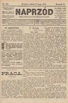 Naprzód : organ polskiej partyi socyalno-demokratycznej. 1901, nr128