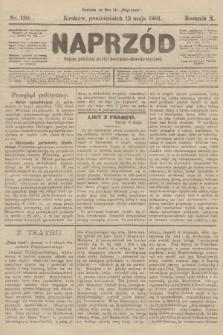 Naprzód : organ polskiej partyi socyalno-demokratycznej. 1901, nr130