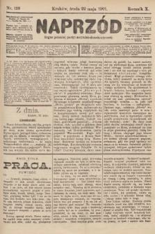Naprzód : organ polskiej partyi socyalno-demokratycznej. 1901, nr139