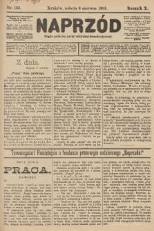 Naprzód : organ polskiej partyi socyalno-demokratycznej. 1901, nr155