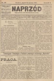Naprzód : organ polskiej partyi socyalno-demokratycznej. 1901, nr161 [po konfiskacie nakład drugi!]