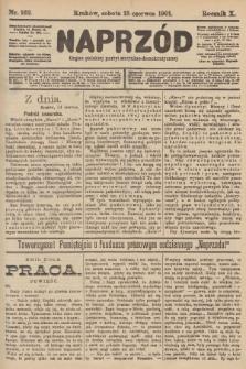 Naprzód : organ polskiej partyi socyalno-demokratycznej. 1901, nr162