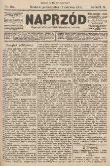 Naprzód : organ polskiej partyi socyalno-demokratycznej. 1901, nr164