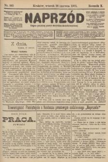 Naprzód : organ polskiej partyi socyalno-demokratycznej. 1901, nr165