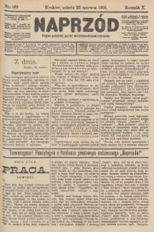 Naprzód : organ polskiej partyi socyalno-demokratycznej. 1901, nr169