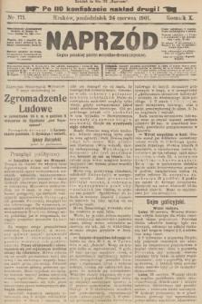 Naprzód : organ polskiej partyi socyalno-demokratycznej. 1901, nr171 (po konfiskacie nakład drugi!)