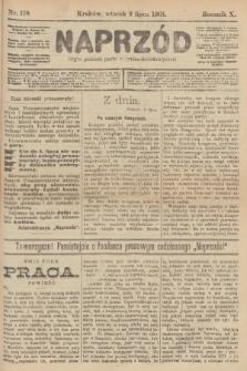 Naprzód : organ polskiej partyi socyalno-demokratycznej. 1901, nr178