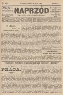 Naprzód : organ polskiej partyi socyalno-demokratycznej. 1901, nr182