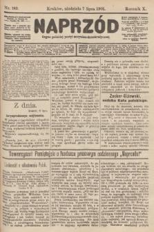 Naprzód : organ polskiej partyi socyalno-demokratycznej. 1901, nr183