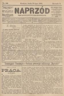 Naprzód : organ polskiej partyi socyalno-demokratycznej. 1901, nr186
