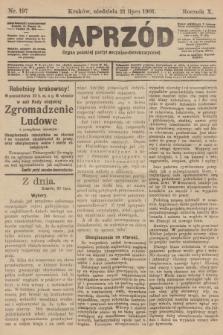 Naprzód : organ polskiej partyi socyalno-demokratycznej. 1901, nr197