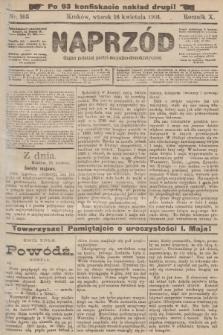 Naprzód : organ polskiej partyi socyalno-demokratycznej. 1901, nr103 (po konfiskacie nakład drugi!)