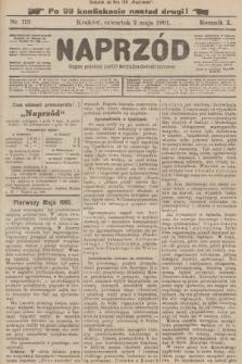 Naprzód : organ polskiej partyi socyalno-demokratycznej. 1901, nr119 (po konfiskacie nakład drugi!)