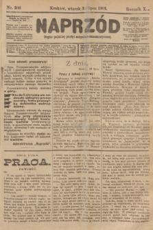 Naprzód : organ polskiej partyi socyalno-demokratycznej. 1901, nr206 [nakład pierwszy skonfiskowany]