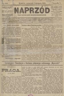 Naprzód : organ polskiej partyi socyalno-demokratycznej. 1901, nr208