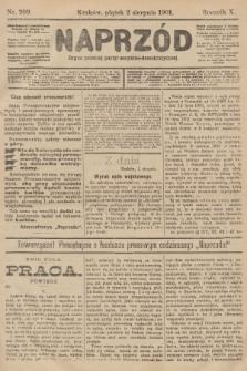 Naprzód : organ polskiej partyi socyalno-demokratycznej. 1901, nr209
