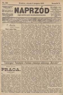 Naprzód : organ polskiej partyi socyalno-demokratycznej. 1901, nr213