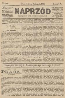 Naprzód : organ polskiej partyi socyalno-demokratycznej. 1901, nr214