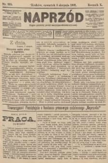 Naprzód : organ polskiej partyi socyalno-demokratycznej. 1901, nr215