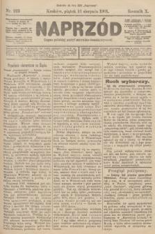 Naprzód : organ polskiej partyi socyalno-demokratycznej. 1901, nr223