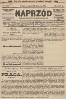 Naprzód : organ polskiej partyi socyalno-demokratycznej. 1901, nr224 (po konfiskacie nakład drugi!)
