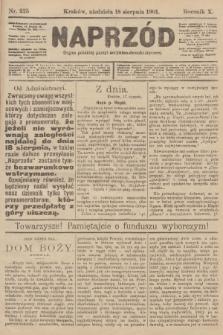Naprzód : organ polskiej partyi socyalno-demokratycznej. 1901, nr225