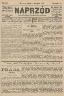 Naprzód : organ polskiej partyi socyalno-demokratycznej. 1901, nr228