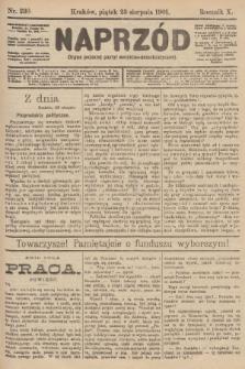 Naprzód : organ polskiej partyi socyalno-demokratycznej. 1901, nr230