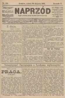 Naprzód : organ polskiej partyi socyalno-demokratycznej. 1901, nr231