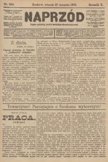 Naprzód : organ polskiej partyi socyalno-demokratycznej. 1901, nr234