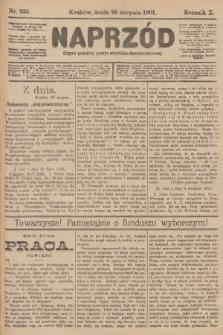 Naprzód : organ polskiej partyi socyalno-demokratycznej. 1901, nr235