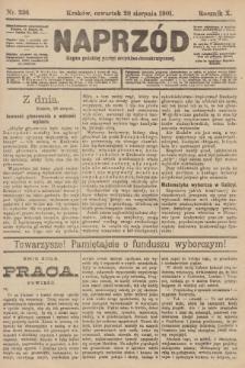 Naprzód : organ polskiej partyi socyalno-demokratycznej. 1901, nr236