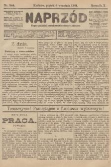 Naprzód : organ polskiej partyi socyalno-demokratycznej. 1901, nr244