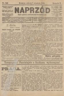 Naprzód : organ polskiej partyi socyalno-demokratycznej. 1901, nr245