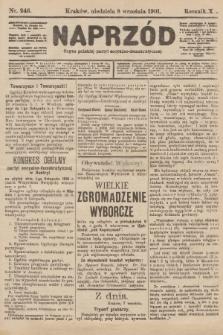 Naprzód : organ polskiej partyi socyalno-demokratycznej. 1901, nr246
