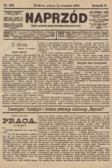Naprzód : organ polskiej partyi socyalno-demokratycznej. 1901, nr252