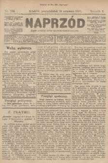 Naprzód : organ polskiej partyi socyalno-demokratycznej. 1901, nr254